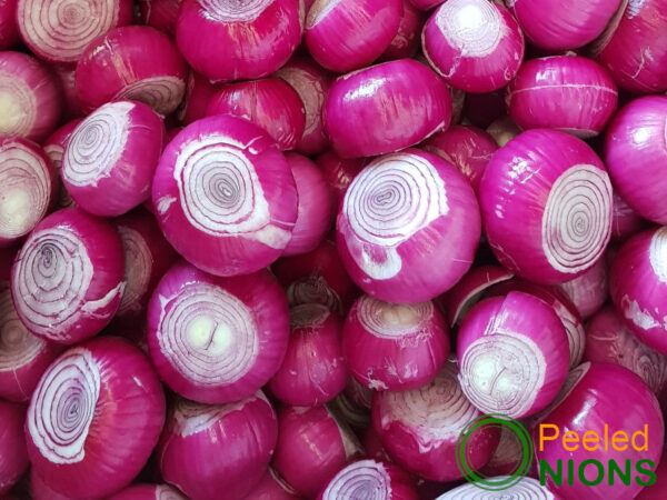 Peeled Whole Red Onions